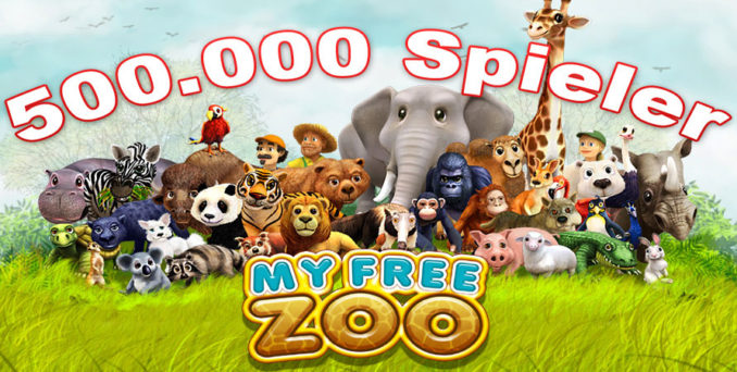 Neuer Server für das Zoo Browsergame My Free Zoo
