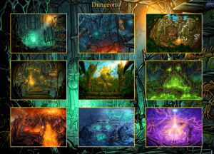 Alle Dungeons offen!