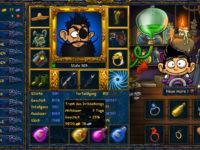 SFGame Goldrahmen im Zauberladen