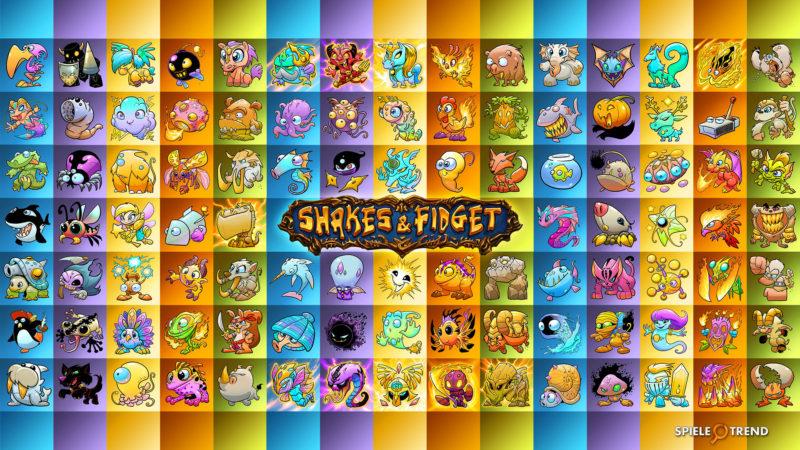 SFGame: Wallpaper zu den Pets