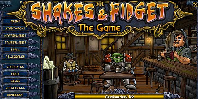 Shakes und Fidget S19 (Server 19) geht bald im kostenlosen Browsergame online