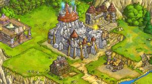 Shakes und Fidget (The Game) Festung