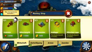 Der Shop von MonkeyBay