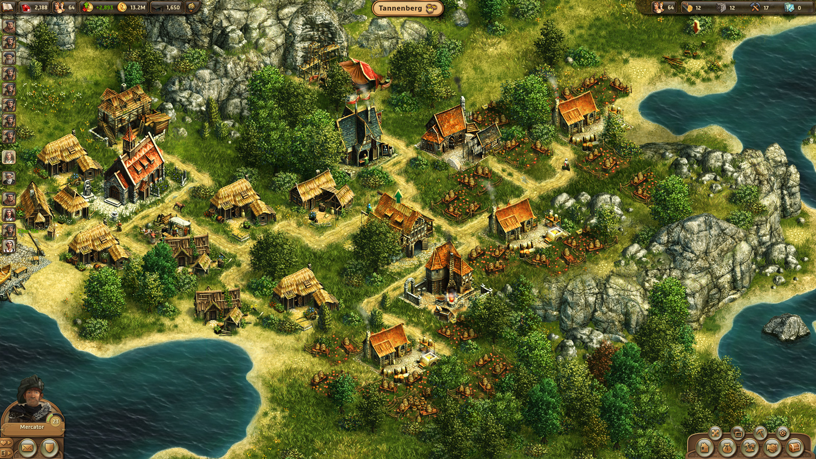 Dorf Aufbauspiele