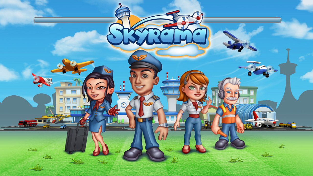 Die Flughafen Simulation Skyrama