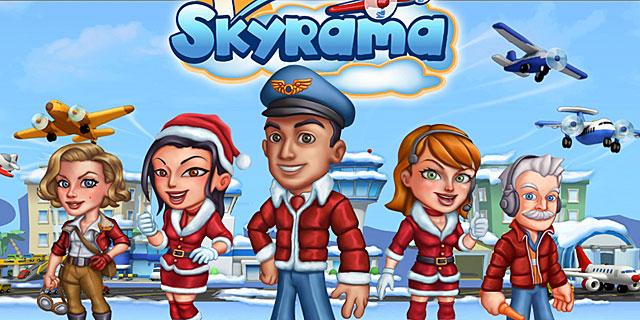 Silvester im Flughafen Browsergame Skyrama
