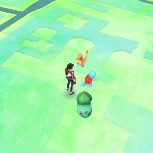 Starter Pokémon der 1. Generation
