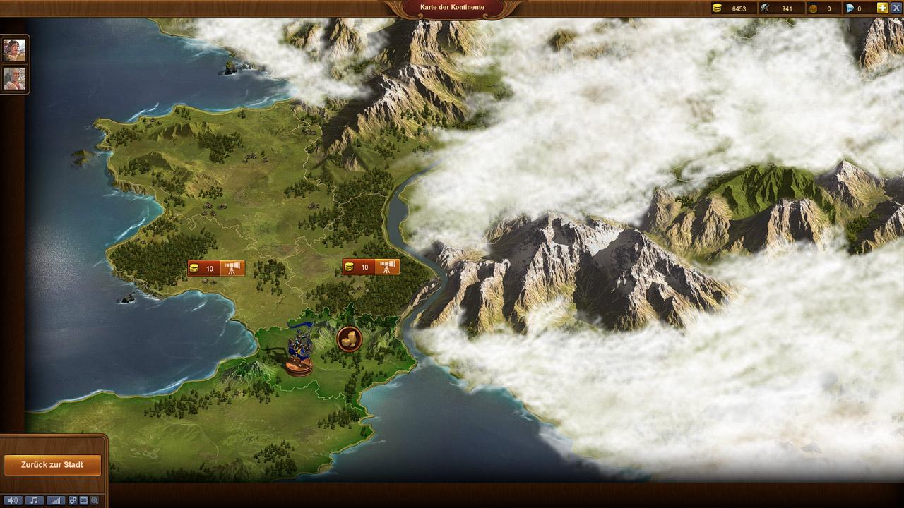 Karte Der Kontinente Foe.Forge Of Empires Kostenloses Aufbau Strategiespiel Auf Deutsch