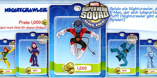 Neue Helden im SHSO Browsergame
