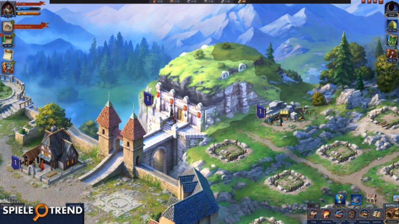 Throne Mittelalterspiel auf Deutsch