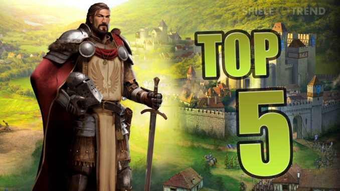 Top 5: Gute Strategiespiele online (2016/2017)