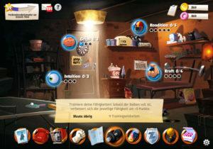 Trainieren im Rollenspiele Browsergame Hero Zero