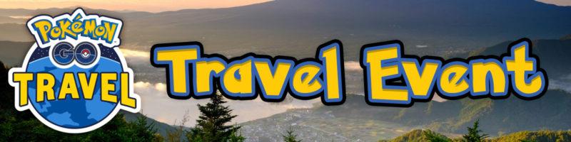Pokémon GO Travel Event