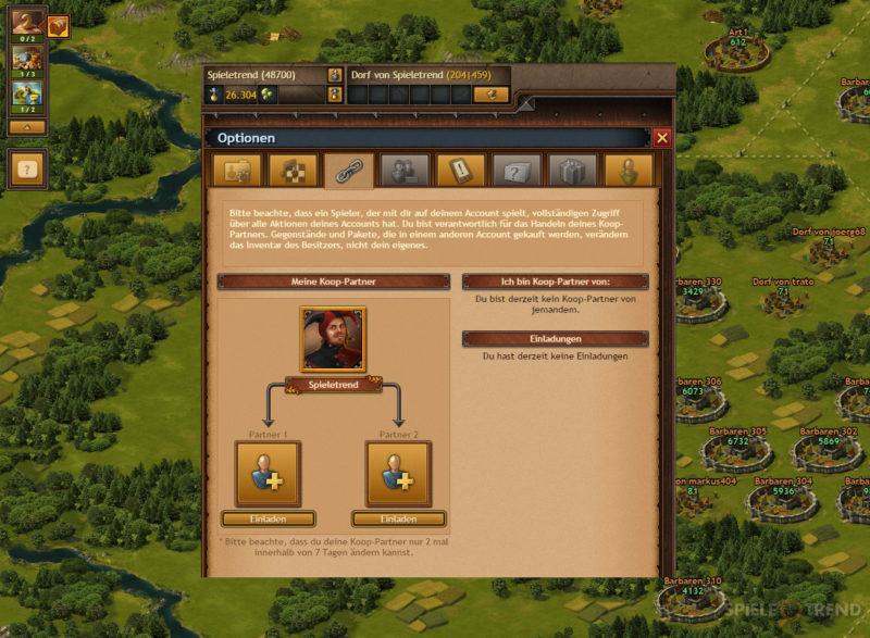Tribal Wars 2 Koop-Modus