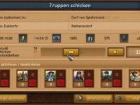 Truppen in Tribal Wars 2 auf das Barbarendorf schicken