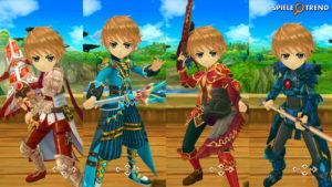 Twin Saga MMORPG Gameplay
