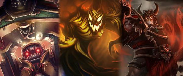 Untergrund-Nautilus, Verwüster-Nocturne und Kriegstreiber Sion