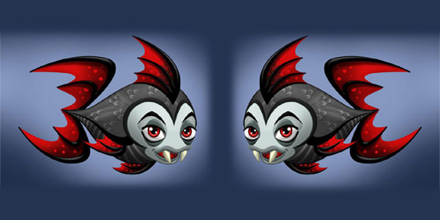 Vampirfische im FreeAquaZoo Online Browser Game