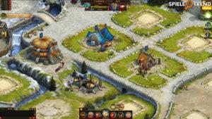 War of Clans Festung aufbauen