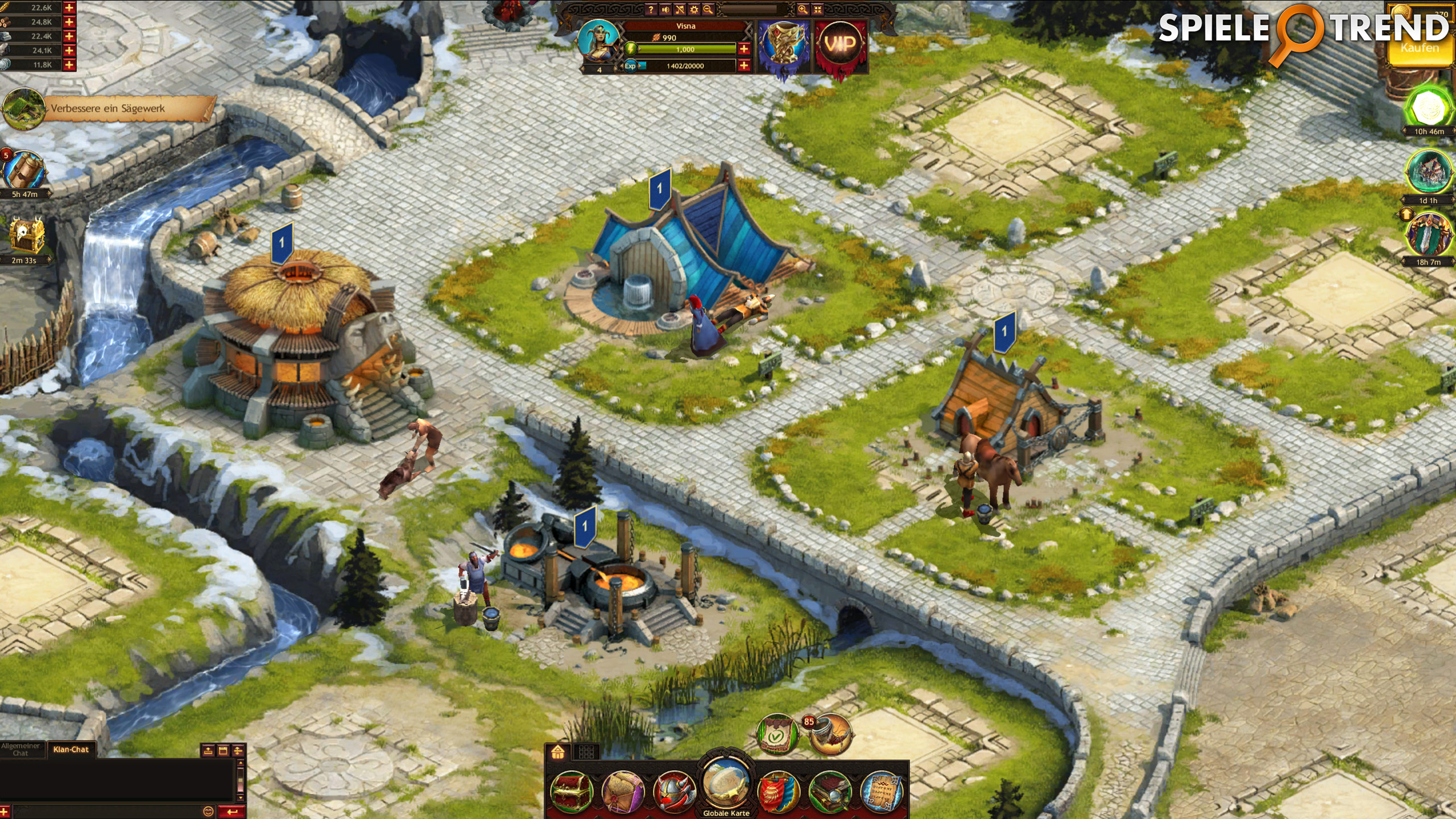 Vikinger Spiel