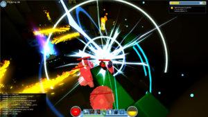 Effekt-Feuerwerk (Voxel-MMO von Trion Worlds)
