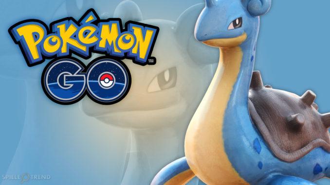 Pokémon GO Lapras beim Wasserfestival