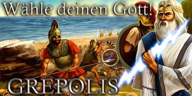 Spielserver Athen im kostenlos Game Grepolis