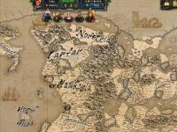 Die Map vom Pen and Paper Spiel Therian Saga