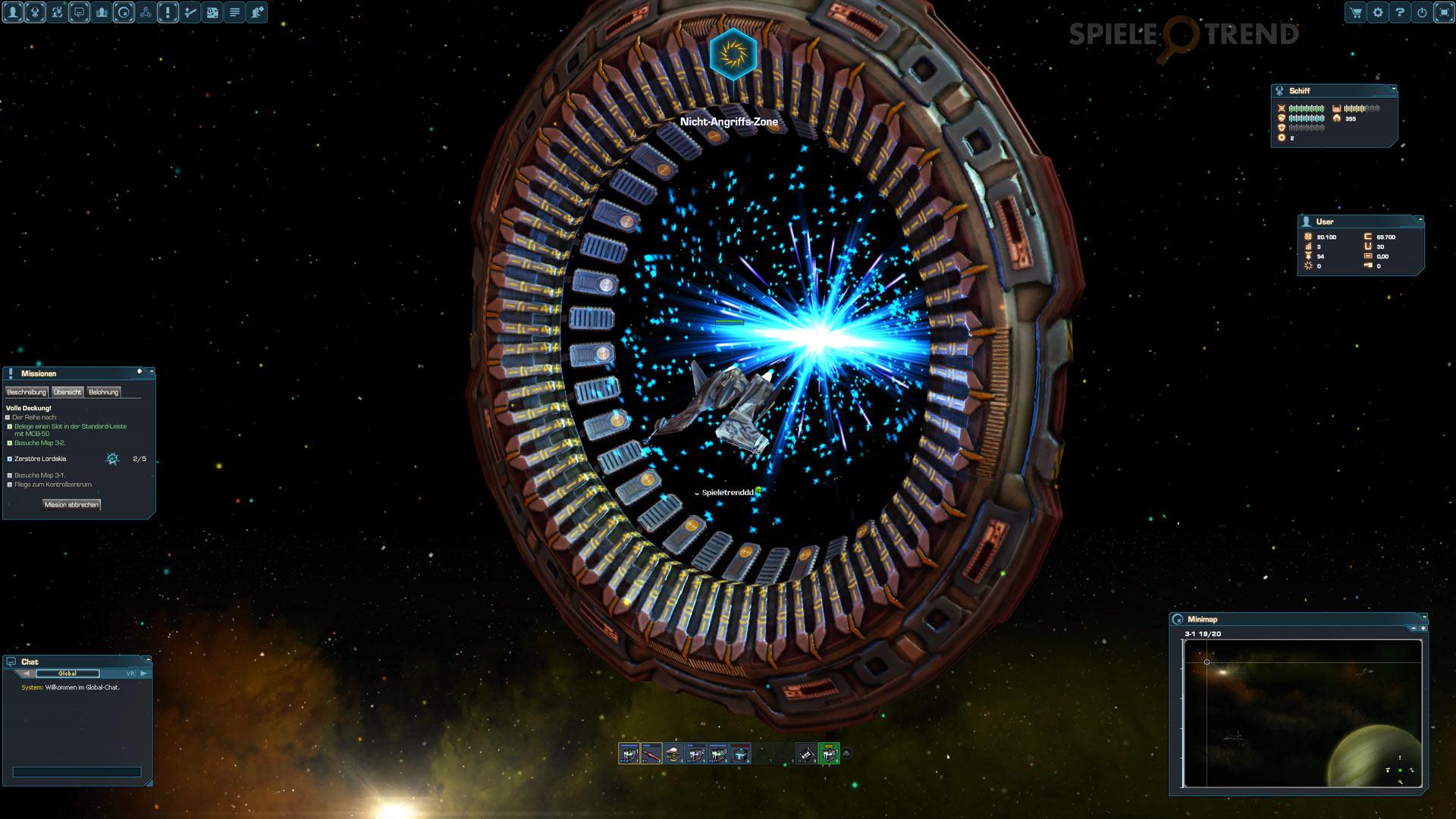 Weltraum Browsergames