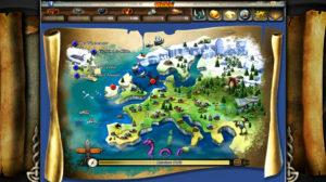Karte von Wickie Online