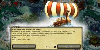 Wikinger und Asiaten MMORPG Spiel Cultures Online