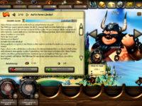 Kostenloses Browsergame mit Wikingern