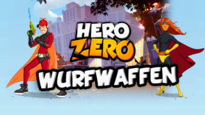 Neues Wurfwaffen Update im Hero Zero Browsergame