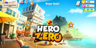 Yoyo Inseln, die neue Zone im Hero Zero Online Spiele Browsergame