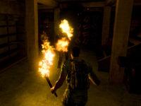 Die Zombies werden verbrannt