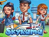 Skyrama - Kostenlose Flughafen Simulation, Flug MMO Browsergame